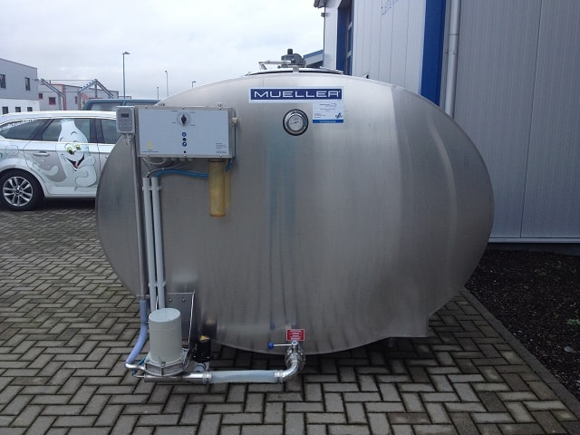 Mueller Used Milk Cooling Tank With New Cleaning And New Cooling Unit