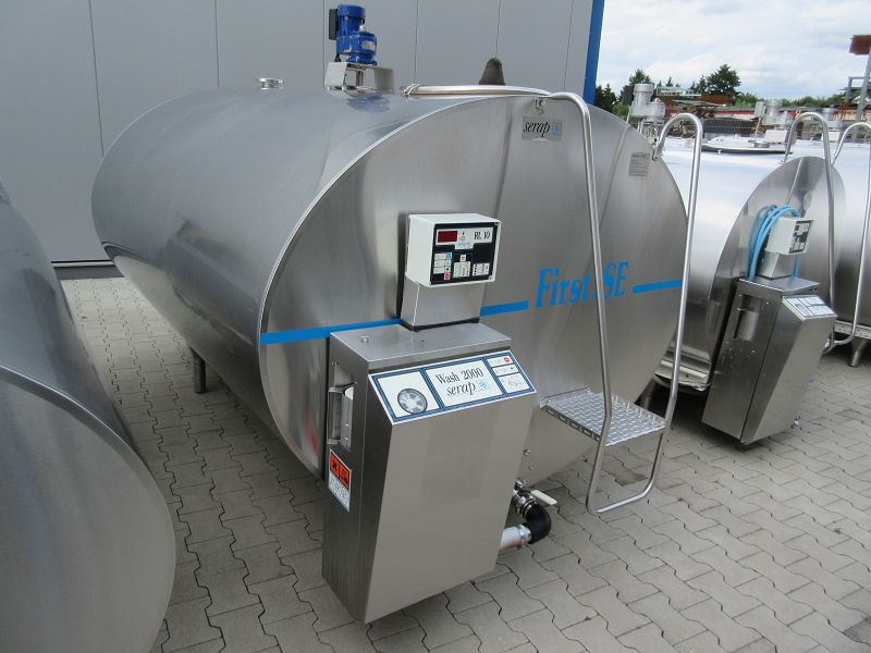 Used Serap Milk Tank / Milk Cooling Tank (Ready To Plug In)