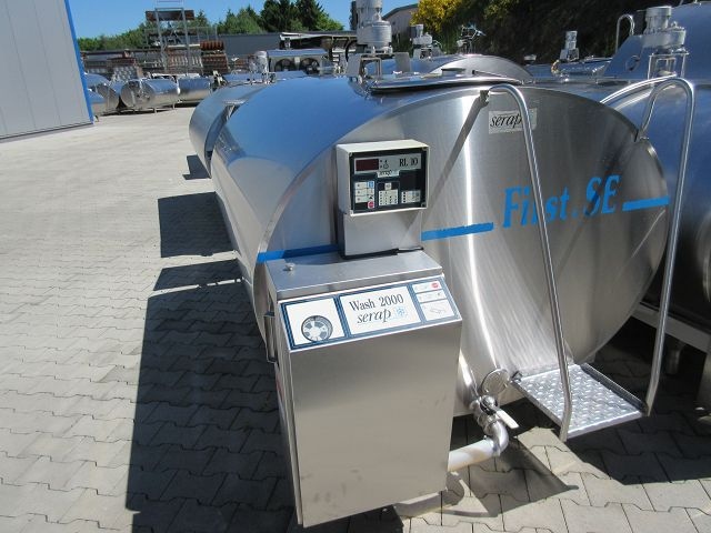 Used Serap Mueller Milk Tank 2000-2500 Liters