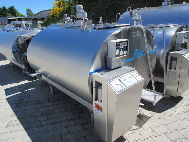 Serap Mueller Used Milk Bulk Tank 2000-2500 Litres
