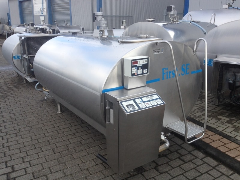 Used Serap Milk Cooling Tank / Wine Tank