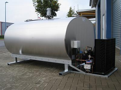 Mobile Milk Tank without Trailer