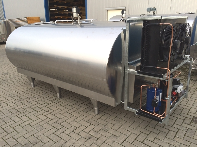Milk Tank Cleaning Control System