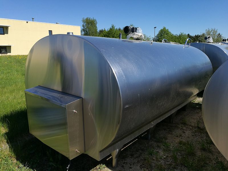 Used Mueller Milk Cooling Tank