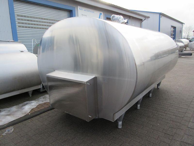 Used Mueller Milk Cooling Tank O-2500