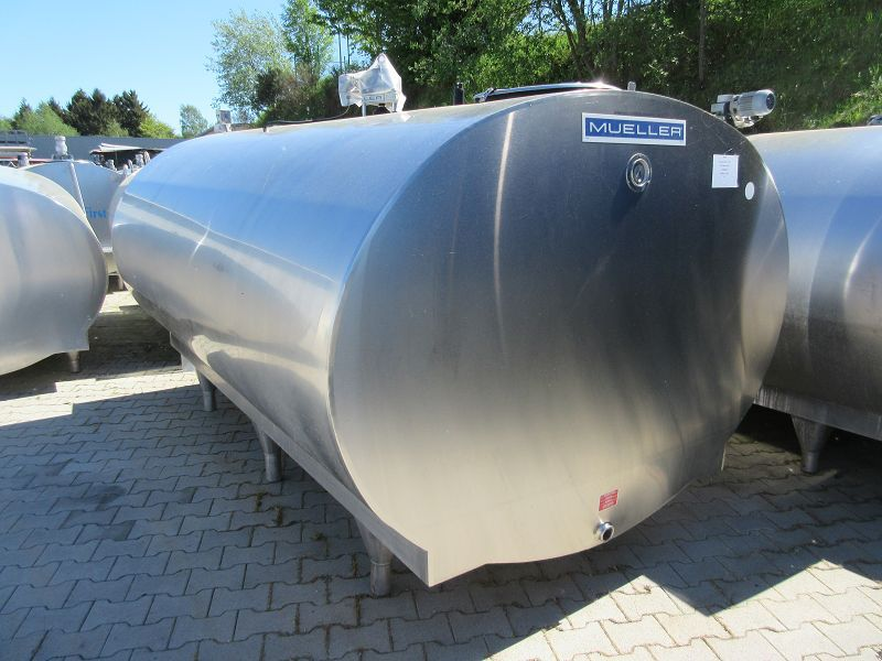 Used Mueller Milk Cooling Tank O-1500