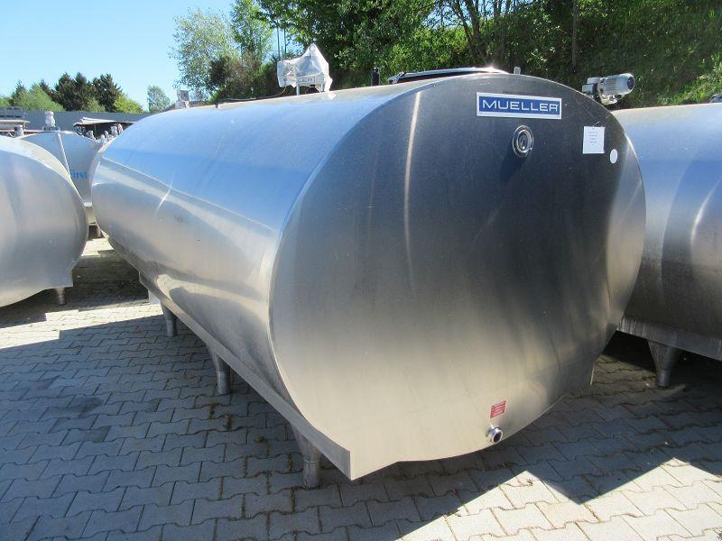 Used Mueller Milk Cooling Tank O-1500