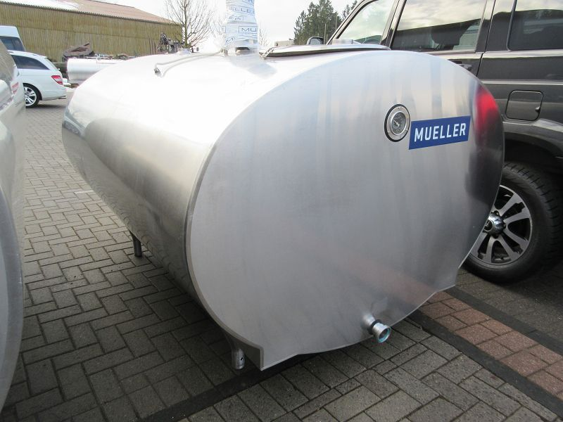 Mueller Bulk Milk Tank O-500 to 2000 Lliter