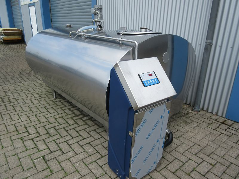 Used Mueller Milk Cooling Tank O-600