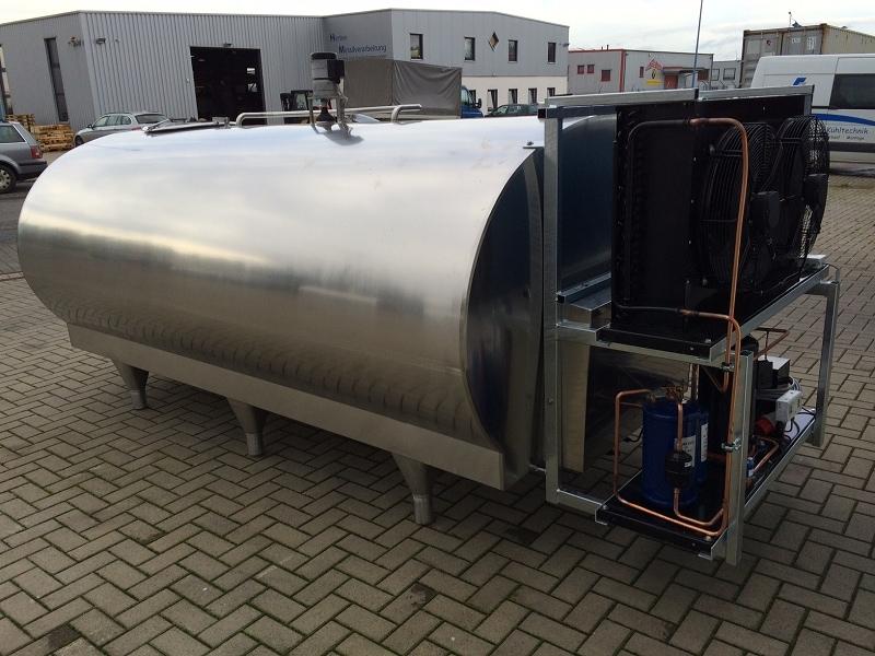 4600 Liters Mueller Milk Tank