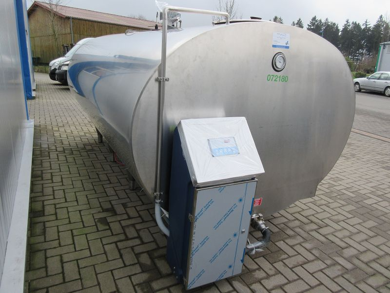 Used Mueller Milk Cooling Tank With New Cleaning System