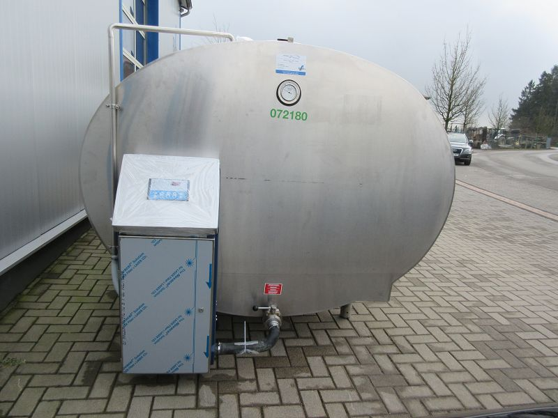 Used Mueller Milk Cooling Tank With New Cleaning