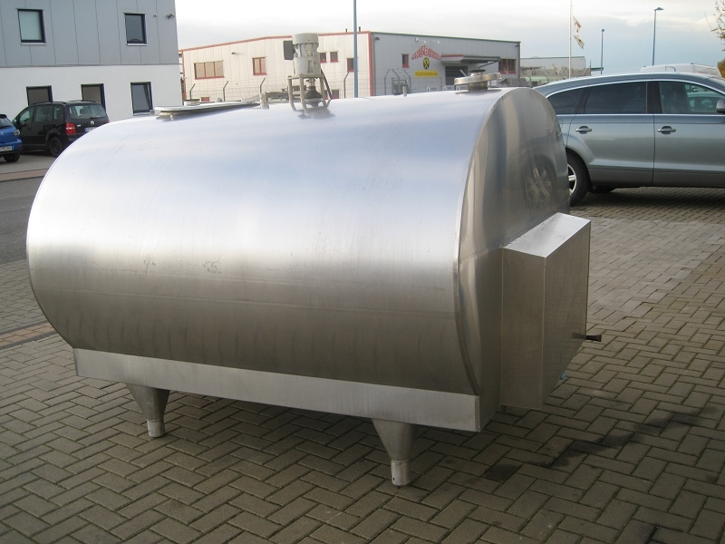 Used Mueller Milk Cooling Tank O-700