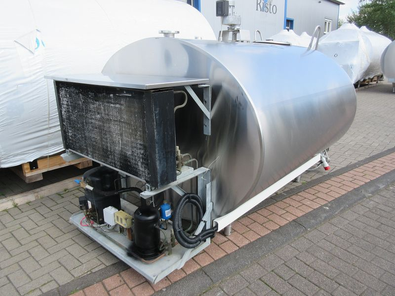 3000 Litres Serp Used Milk Cooling Tank