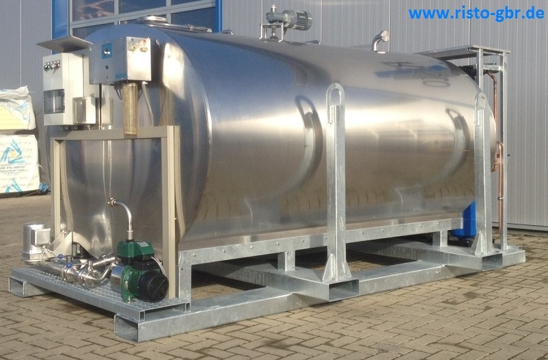 Stainless Steel Fully Automatic Drinking Water Tank with Cleaner