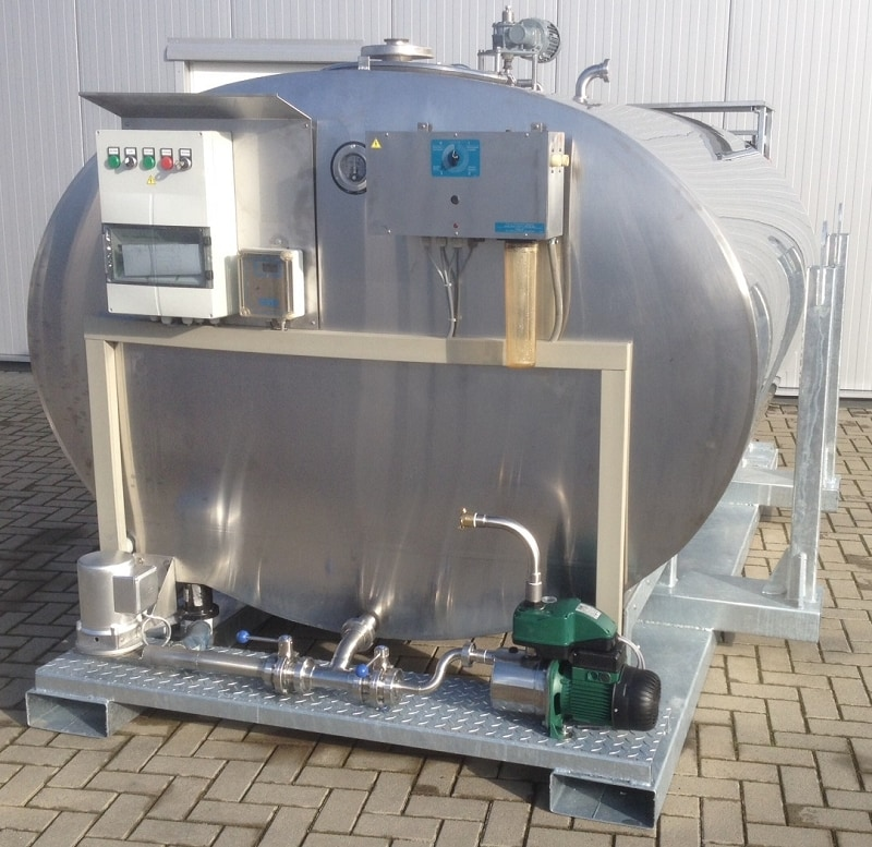 Double-walled Stainless Steel Drinking Water Tank