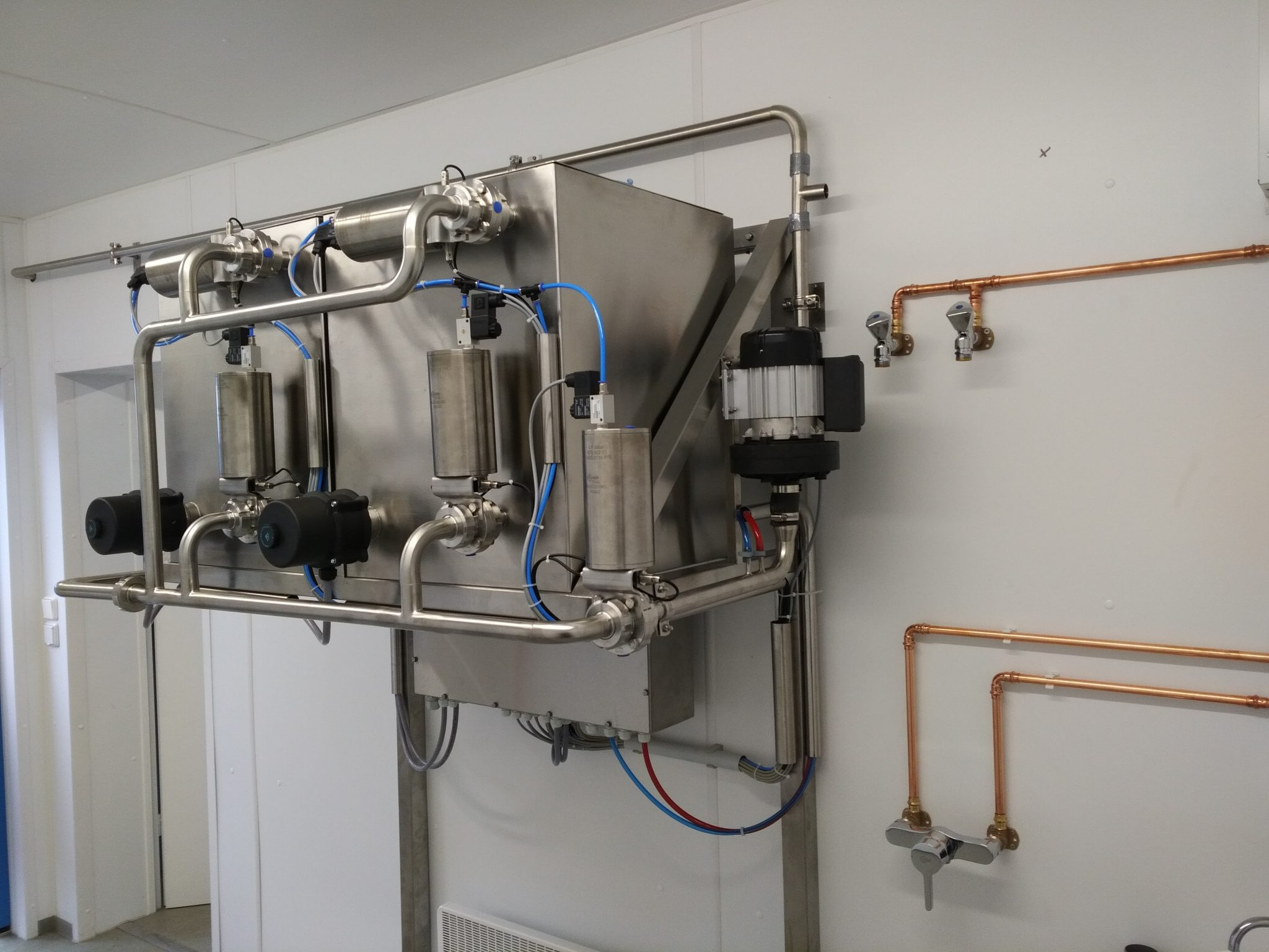 Batch Cleaning System from Risto