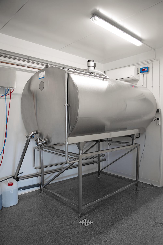Hofmolkerei Mini-Molkerei Milchkühltank