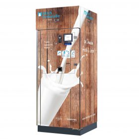 Distributeur automatique de lait Risto Milkbox 180 avec une seule porte