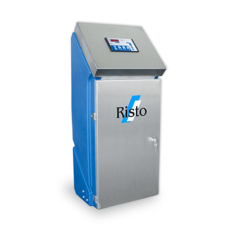 Milchtank Reinigung Risto Wash 2018 seitlich