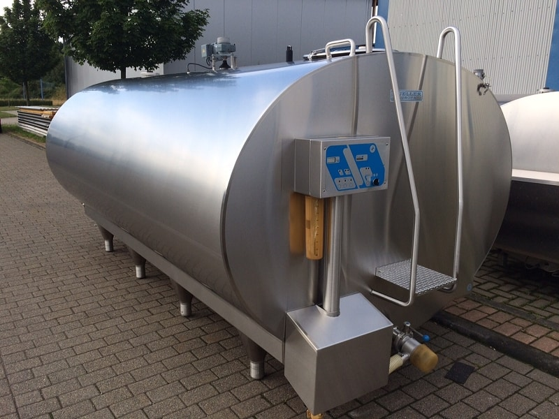 Used Muller Milk Cooling Tank 0-92 7000 Liter