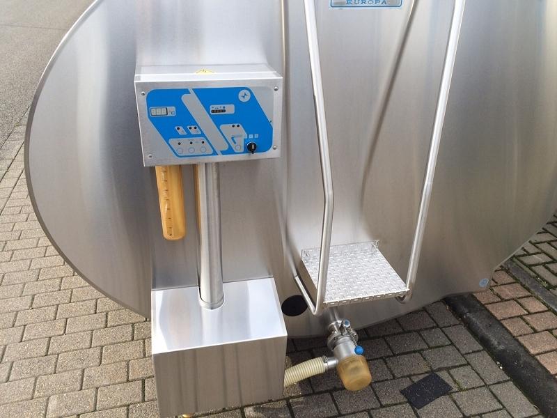 Mueller Milchtank Milchtkühltank gebraucht O-92 7000 Liter