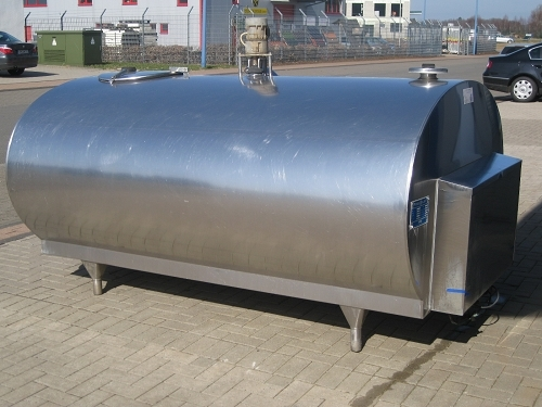 Used Serap Milk Tanks without Cleaning System