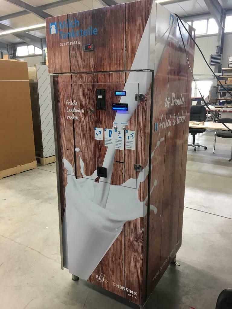 milkbox milchautomat mit transportschaden gebraucht günstig