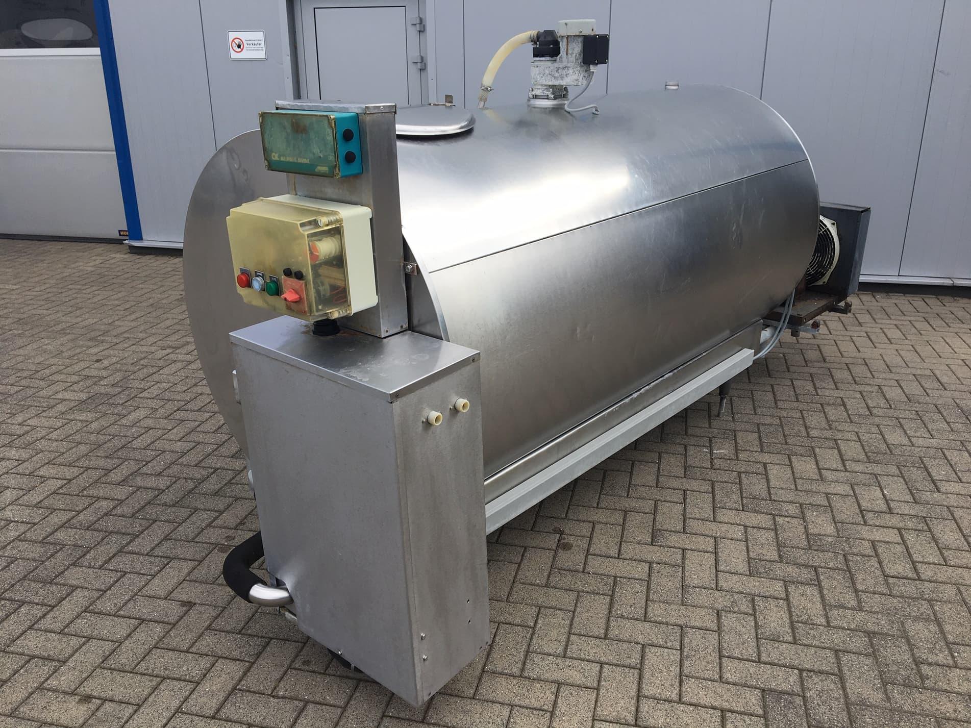 CH 1650 Used Alfa Laval Milk Tank