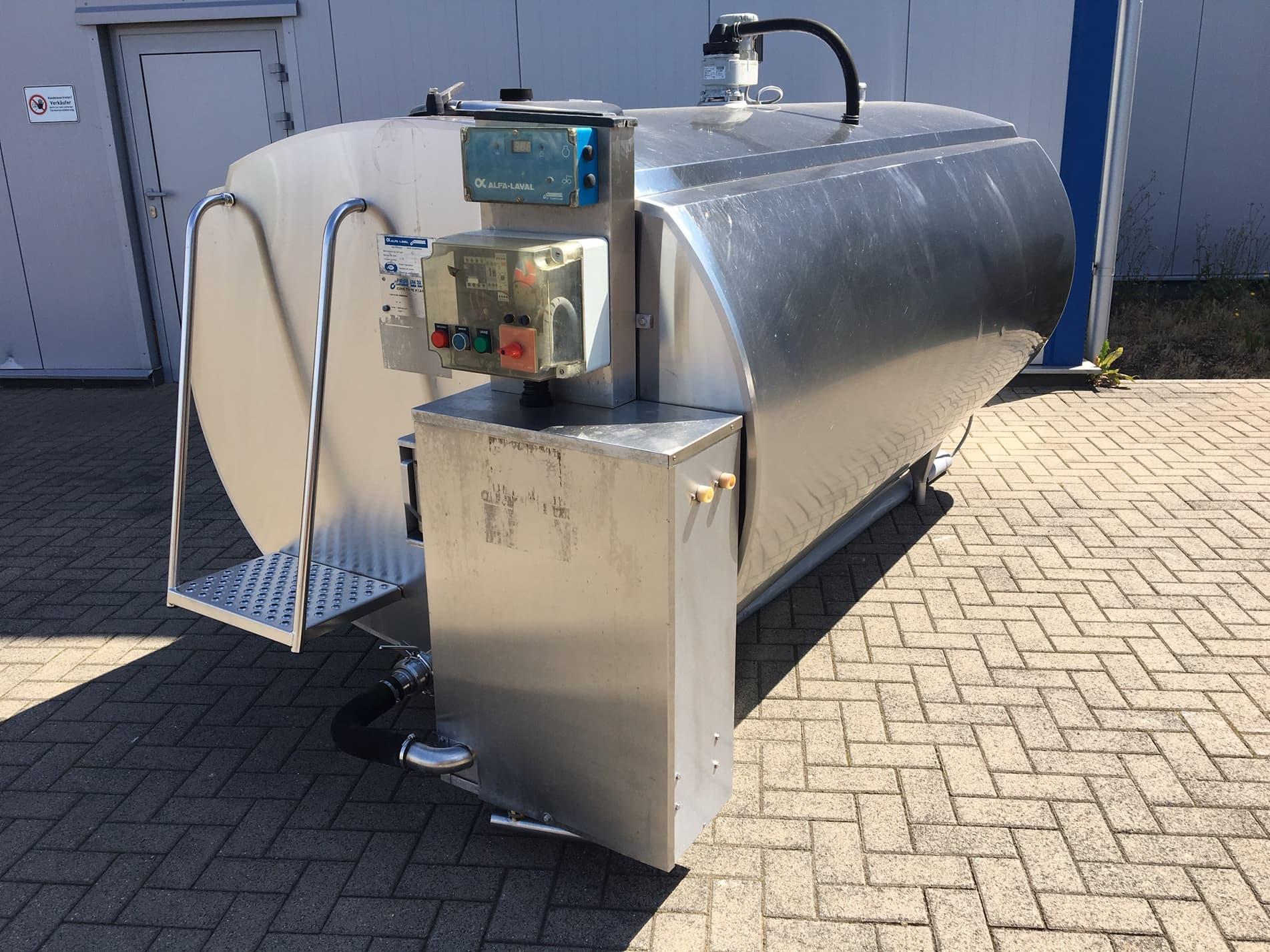 Alfa Laval / Delaval Hca-N 3000 - Used Milk Tank