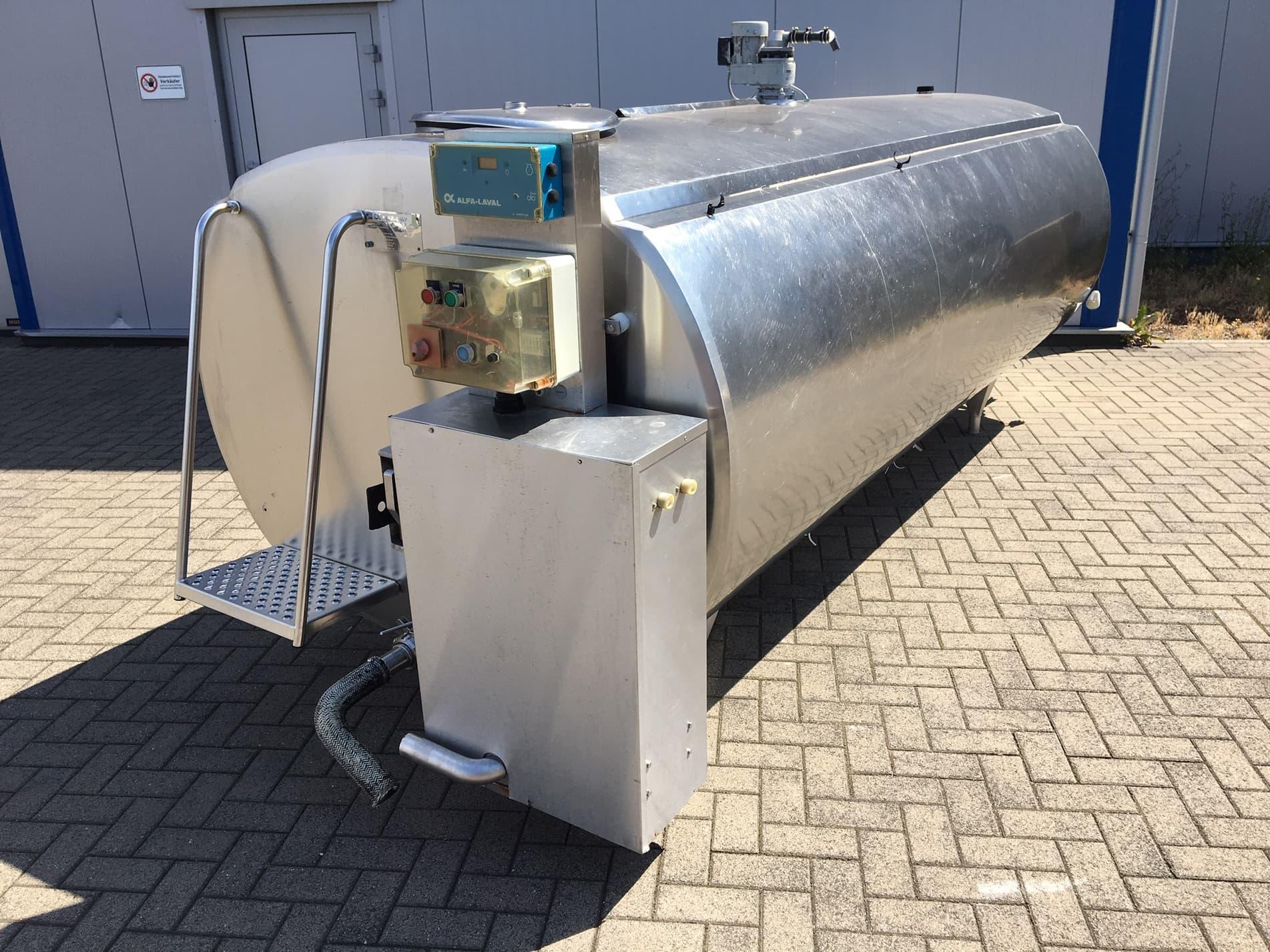 Alpha Laval Delaval HCA-N 4000 Used Milk Tank
