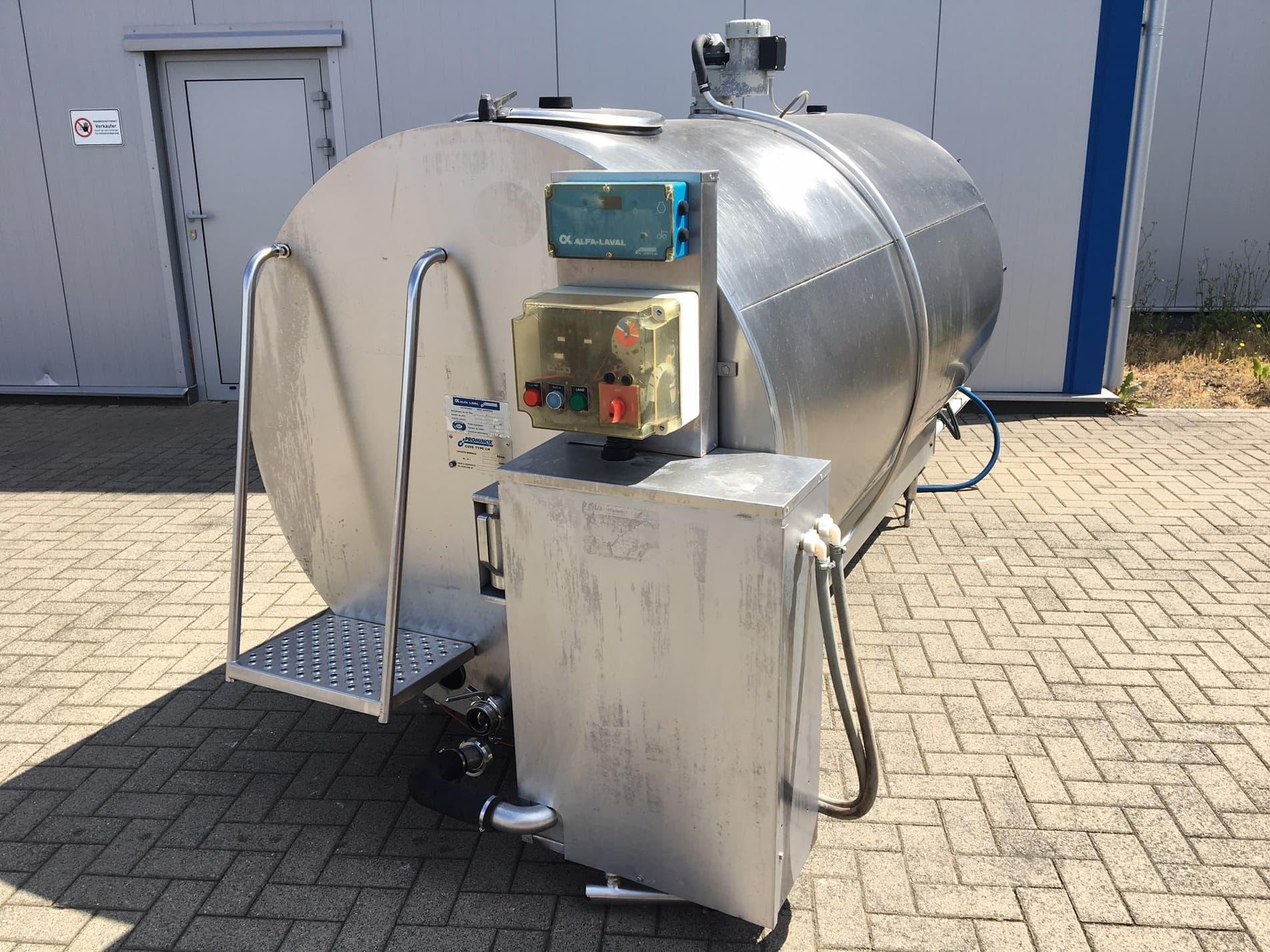 Alfa Laval HC 2600 Used Milk Tank