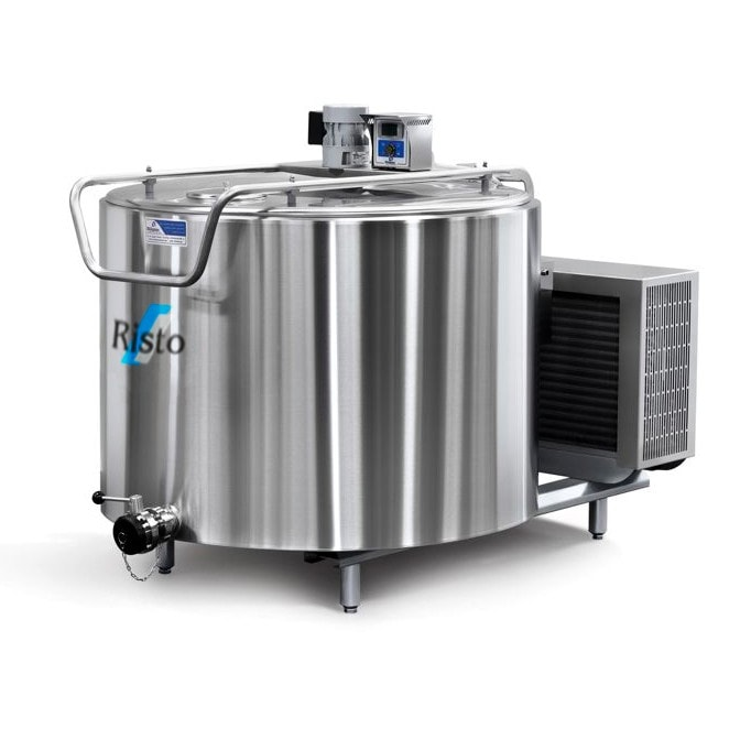 Stainless Steel Milk Cooling Vat