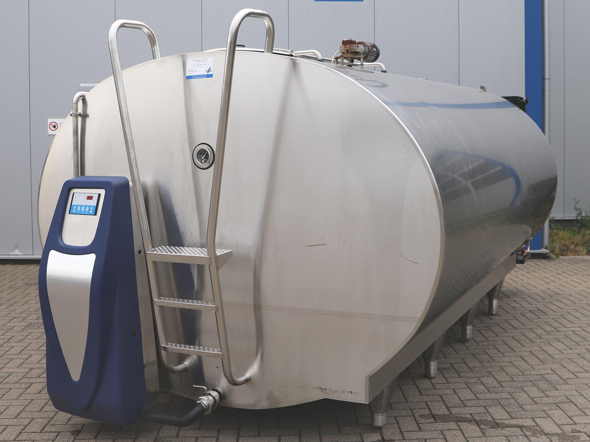 O-2250 Mueller Milk Cooling Tank