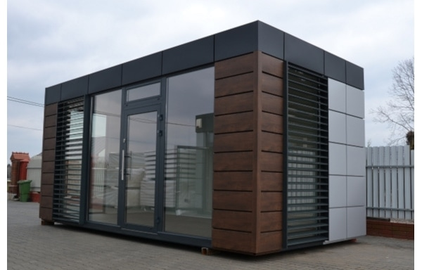 Bürocontainer Beispiel 12