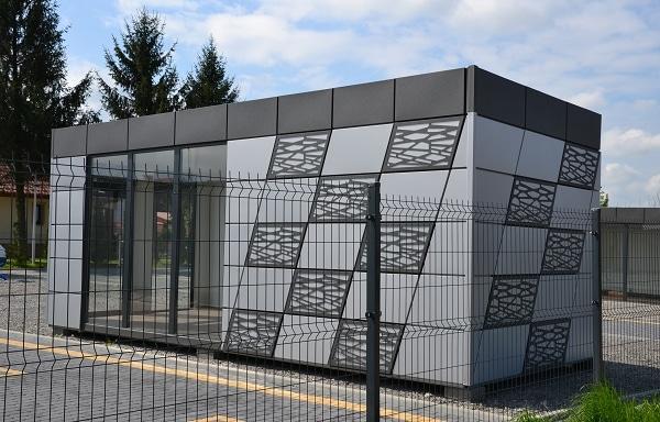 Bürocontainer Beispiel 4
