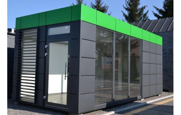 Bürocontainer Beispiel 2