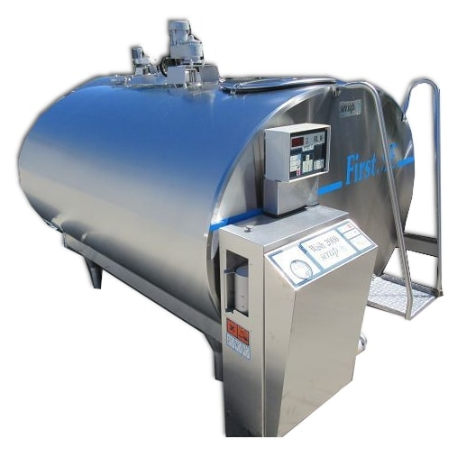 Big variety of used & refurbished Serap milk bulk tanks - Risto de