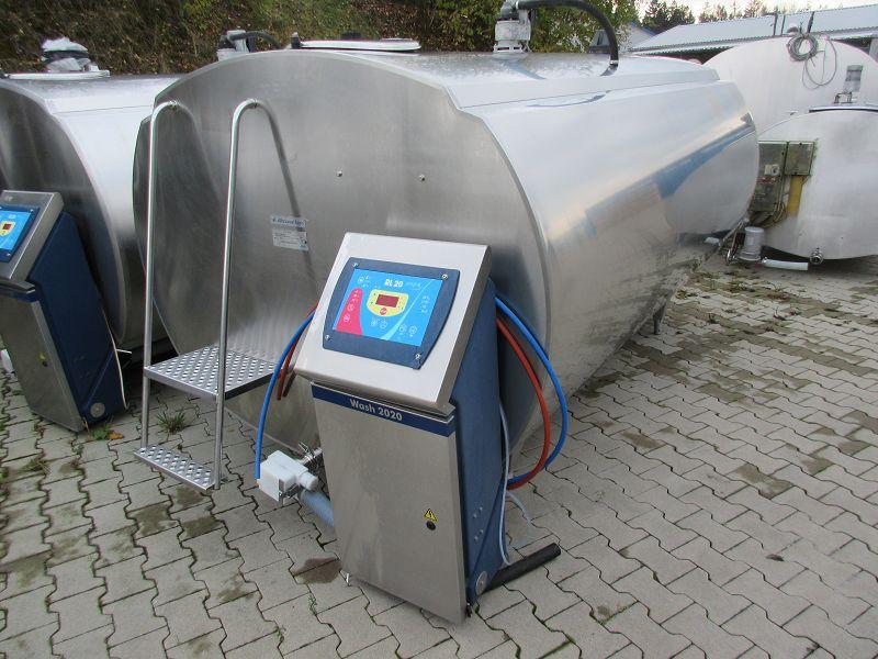 Used Alfa Laval Delaval HCA-N+ 5000 Milk Tank