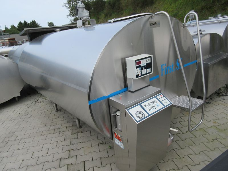 Serap Milk Tank Uses 4000 Liters with RL10 Tank Cleaning