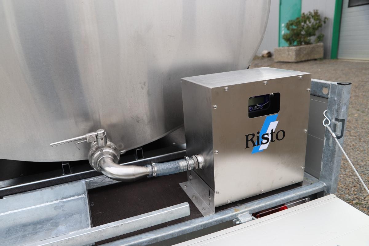 mobiler fahrbarer milchtank milchkühltank 3
