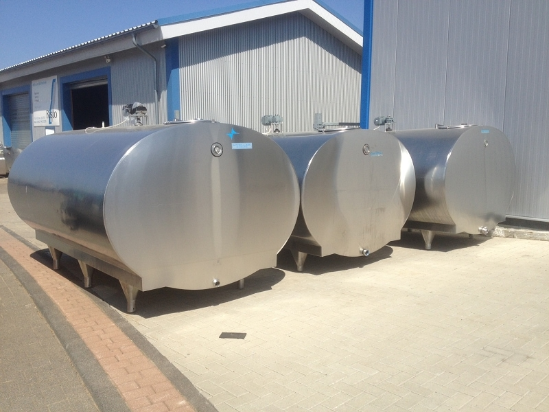 Used Mueller Milk Tank O-2000 8000 Liter