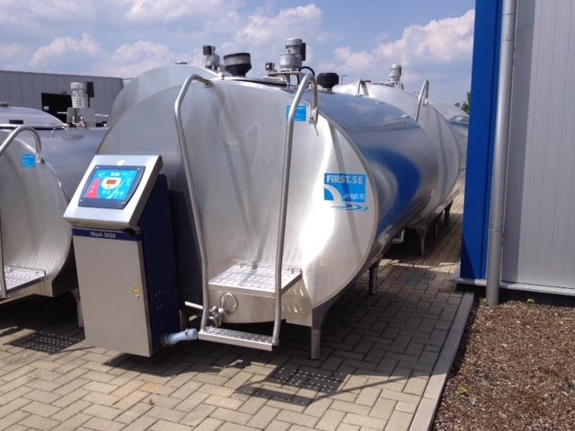 Serap Milk Bulk Tank 3000 Liters RL20